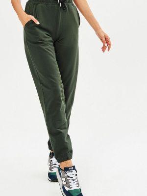 Спортивные брюки зеленый Jolifashn