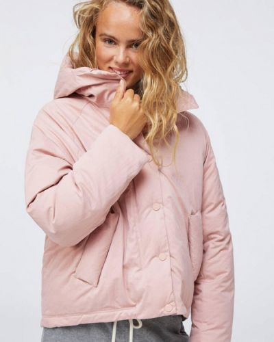 Утепленная куртка - розовая Oysho