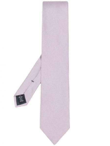 Krawat z obrazem jedwab Ermenegildo Zegna