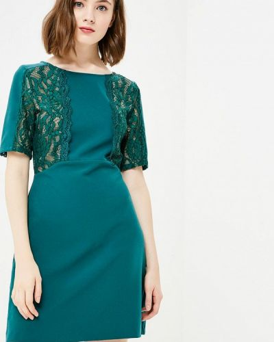Платье осеннее зеленый Gaudi