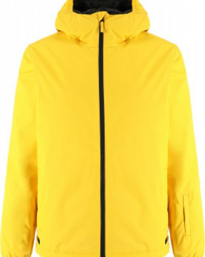 Прямая утепленная желтая куртка Termit