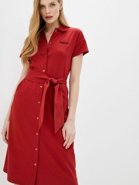 Платье - красное Aeronautica Militare