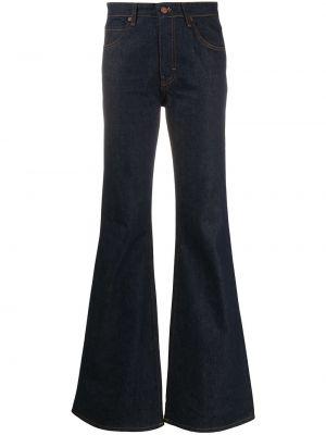 Расклешенные синие джинсы классические с карманами Victoria, Victoria Beckham
