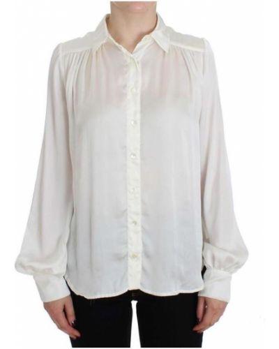 Biała bluzka Plein Sud