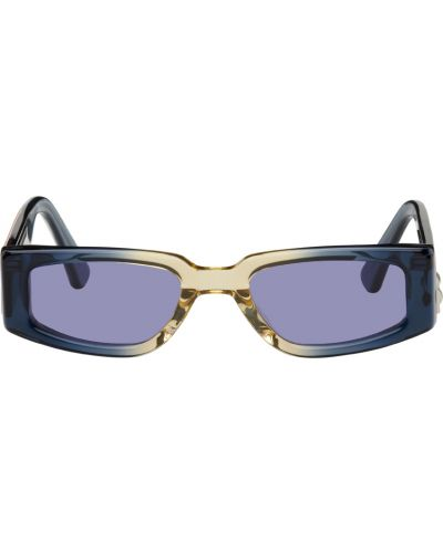 Okulary srebrne - czarne Heron Preston