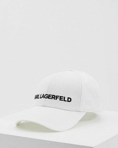 Кепка белая Karl Lagerfeld