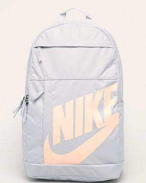 Szary sport plecak z printem Nike Sportswear
