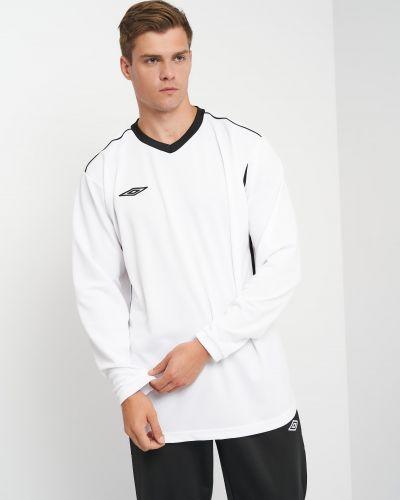 Спортивная лонгслив - белая Umbro