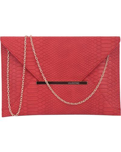 Красный клатч Valentino