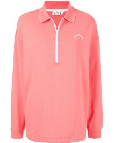 Рубашка на молнии - розовая The Upside