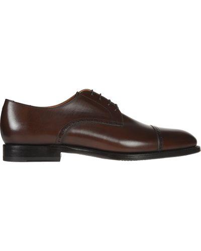 Кожаные туфли - коричневые Franceschetti