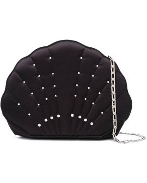 Черная сумка на цепочке с карманами Les Petits Joueurs
