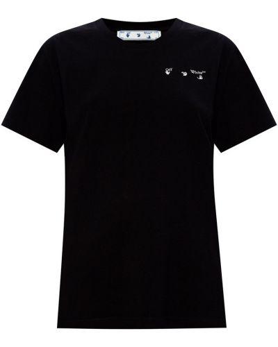 Czarny podkoszulek Off-white