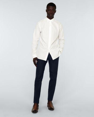 Biała koszula bawełniana Berluti