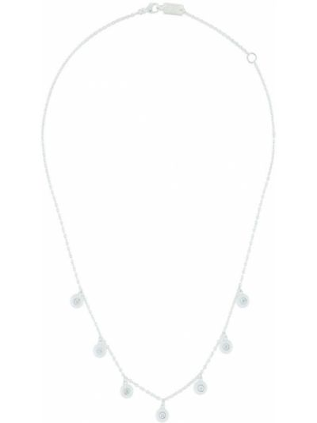 Naszyjnik łańcuch srebrny Ippolita