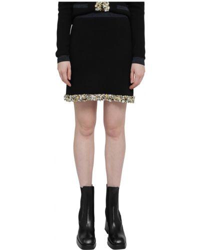 Czarna spódnica Lanvin