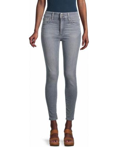 Джинсовые синие зауженные джинсы на шпильке Joe's Jeans