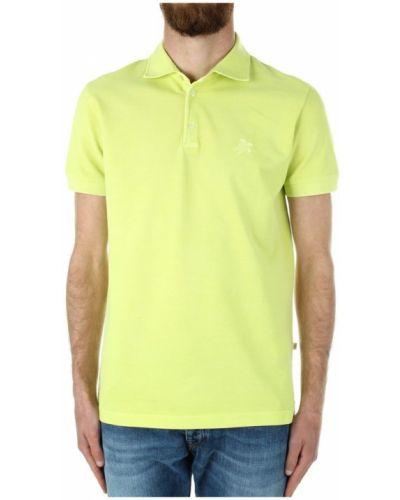 Zielona koszulka krótki rękaw Vilebrequin