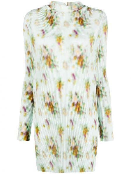 Платье макси длинное - зеленое Frankie Morello