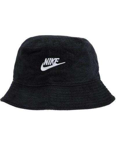 Шапка с логотипом - черная Nike