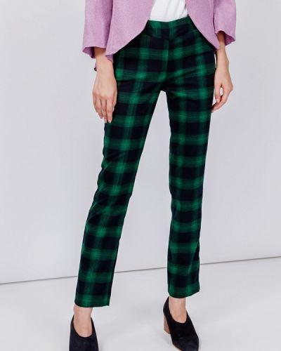 Классические брюки зеленый мадам т
