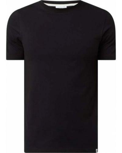 Czarny t-shirt bawełniany Norse Projects