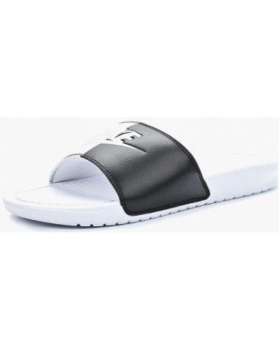 Кожаные сланцы Nike