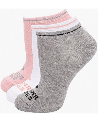 Серые укороченные носки Lee Cooper