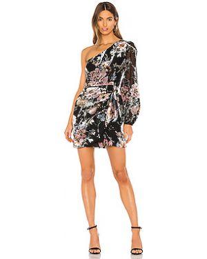 Платье мини вельветовое на молнии Yumi Kim