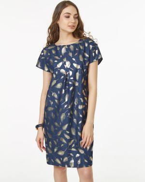 Летнее платье джинсовое с поясом Victoria Filippova