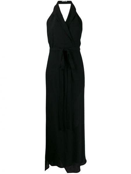 Классическое платье с запахом с открытой спиной на молнии Jil Sander Pre-owned