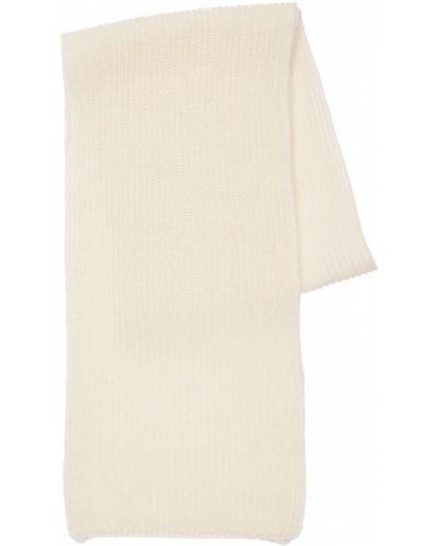 Biały z kaszmiru szalik Piacenza Cashmere