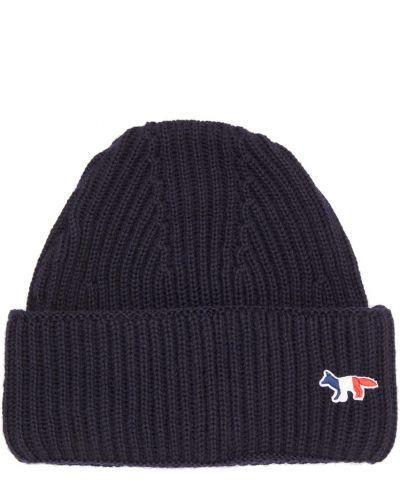 Niebieski kapelusz Maison Kitsune