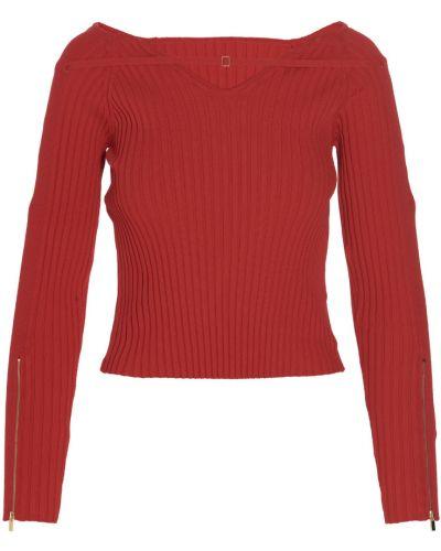 Sweter - czerwony Jacquemus