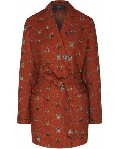 Шерстяной пиджак - красный Alena Akhmadullina