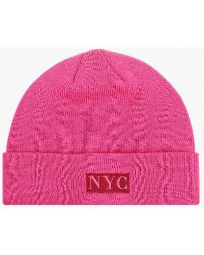 Розовая шапка New Era