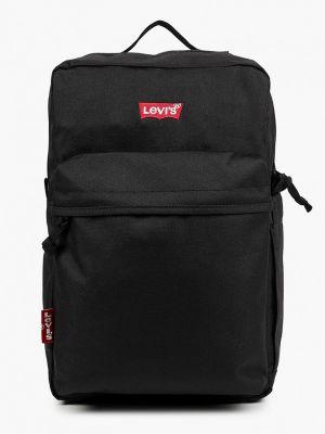 Текстильный городской черный рюкзак Levi's®