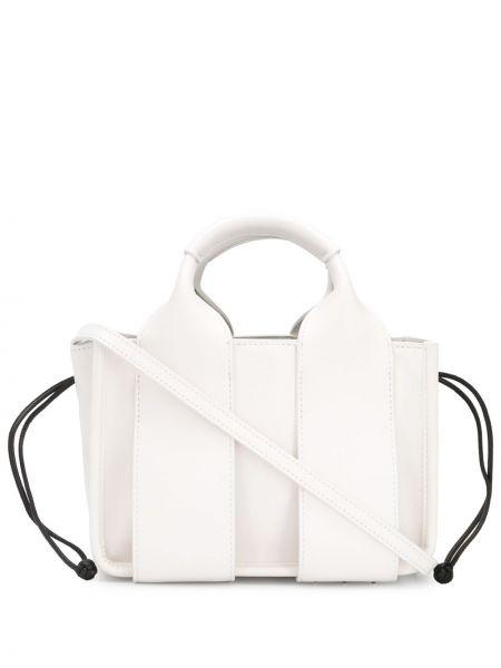 Skórzana torebka mini na ramię Alexander Wang