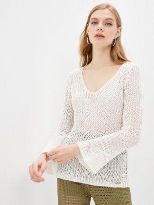 Белый пуловер W.sharvel