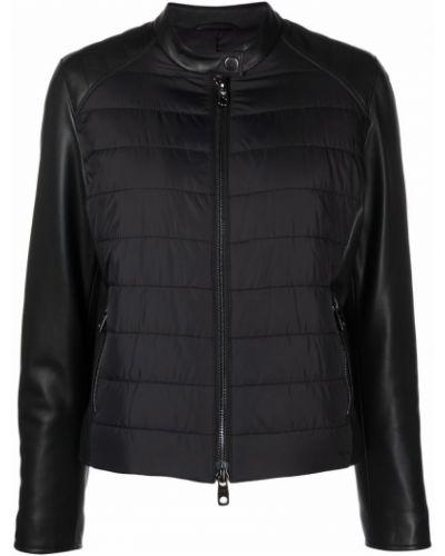 Черная куртка с воротником Emporio Armani