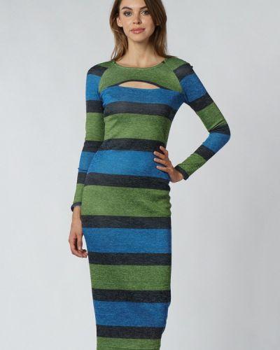 Трикотажное вязаное платье Evercode