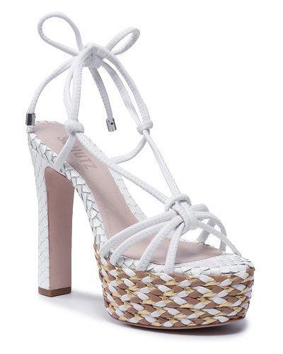 Białe sandały Schutz