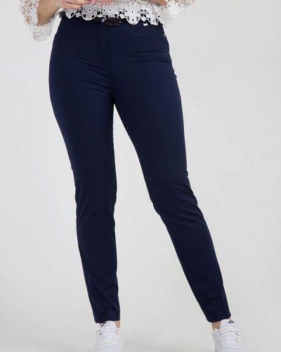 Классические брюки весенний синие Das