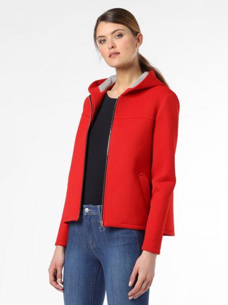 Czerwona kurtka z kapturem Amber & June