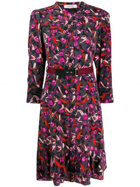 Платье мини с поясом трапеция Dorothee Schumacher