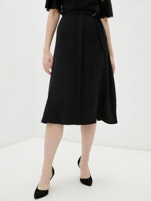 Широкая черная юбка Rivadu