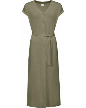 Платье мини миди на пуговицах Bonprix