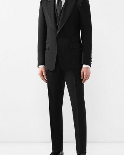 Смокинг черный приталенный Dolce & Gabbana