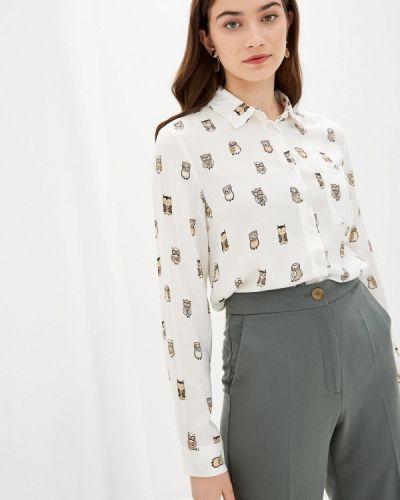 Белая блузка с длинным рукавом с длинными рукавами Defacto
