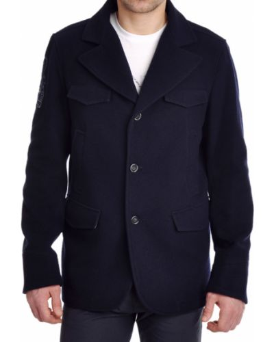 Пальто шерстяное осеннее La Martina